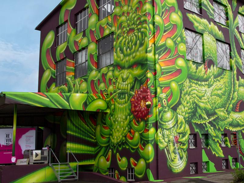 Graffiti Ausstellung